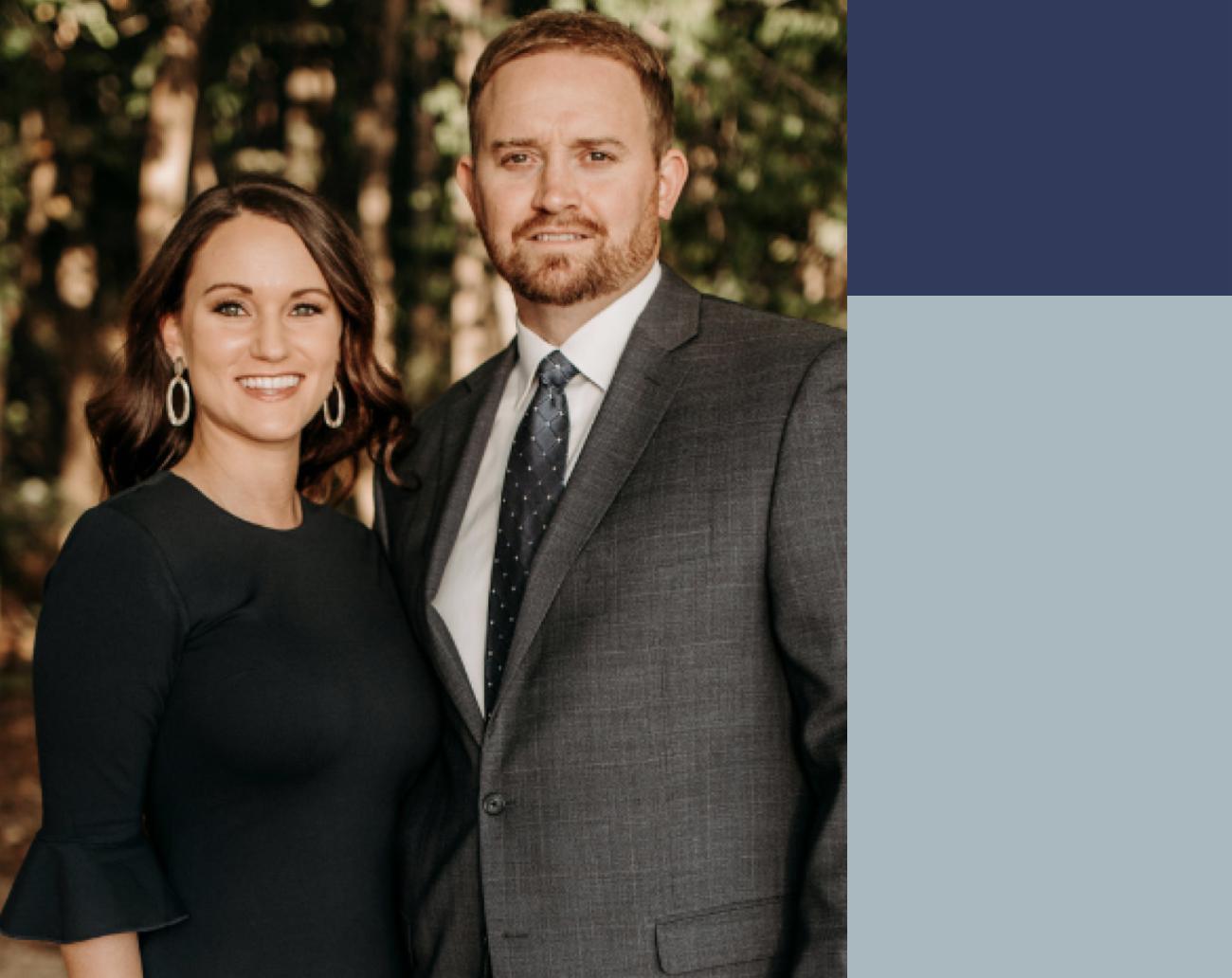 Josh & Charlene Dearing, real estate agents in Charlotte North Carolina who use Ribbon